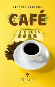 Capa em amarelo com xícara de café