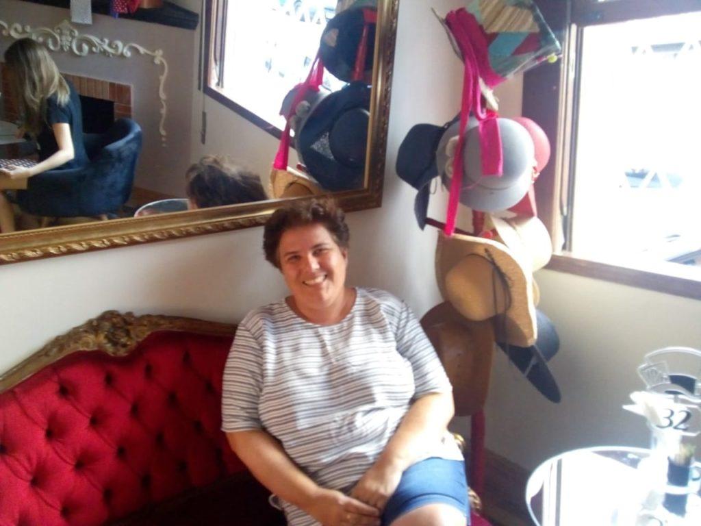 Foto da Paula, proprietário da cafeteria